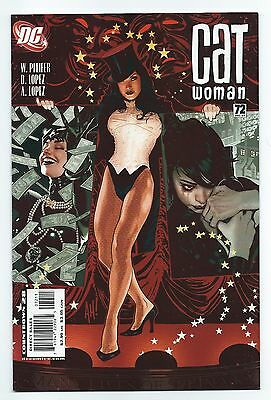 Catwoman 72 Adam Hughes cover DC Comics Zatanna hot