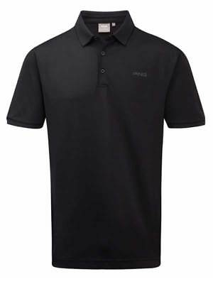 Ping Phoenix Tour Tailored Fit Polo - Black