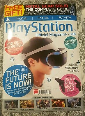 """PlayStation Official Magazine 
