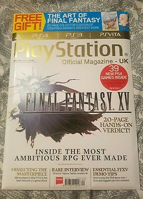 PlayStation Official Magazine | Issue 108 | April '15 | Final Fantasy XV/ 15