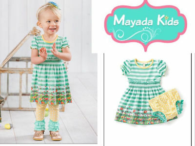 NEW Matilda Jane Field of Daisies Dress  3/6 12/18 18/24 (no diaper cover)