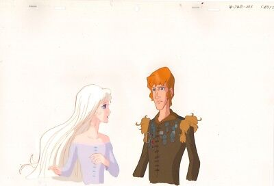 Anime / Animation Cel Last Unicorn #76