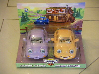 NEW Collectible CHEVRON Cars Babies Zachary Zoomer & Skyler Scamper