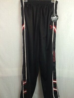 Youth SO34 Shaquille O'neal Black 100% Polyester Warm Up Athletic Pants Sz XL 18