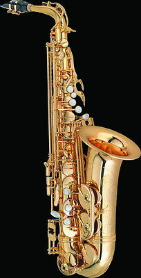 """Eb Alto Saxophone with Case, from """"I&K Music"""" a Melbourne based Supplier"""