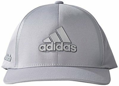 adidas Tour Delta Textured Casquette Homme, Mid Grey / Black, FR : S/M (Taille F