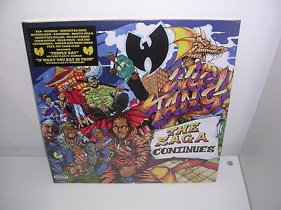 Wu-Tang Clan - The Saga Continues 2Lp Mint/brand New + Free Uk P&p (Pre-Order)