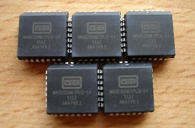 5 x Western Design Center W65C51N6TPLG-14 (CMD / Rockwell) Interface Adaptor