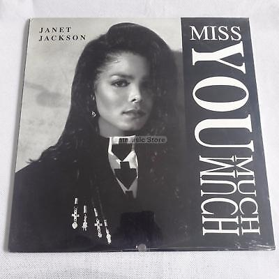 "Janet Jackson  - Miss You Much  US 12"" Sealed"