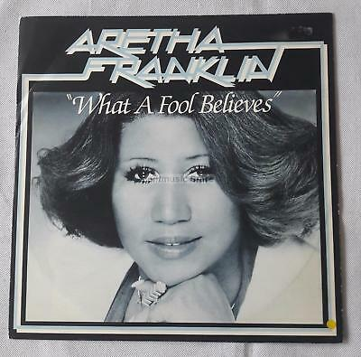 Aretha Franklin - What A Fool Believes UK 12""