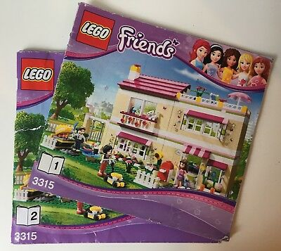Genuine Lego *Instructions Books Manuals ONLY* set 3315 Olivia's House Ref: 4475
