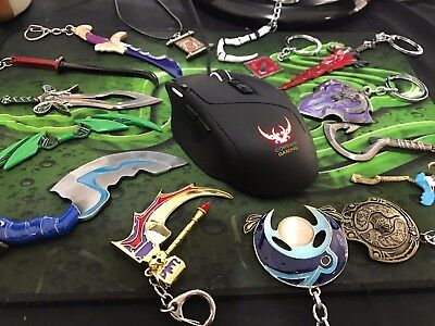 Dota Keychain Blink Dagger Butterfly Aegis Vanguard DragonClaw and other Novelty