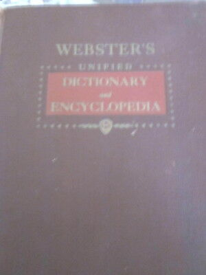 Webster's Unified Dictionary and Encyclopedia