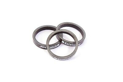 """3 Piece Khe Carbon BMX Spacer 1 1/8 """" inches 28,6 x 5mm for Head Set"""