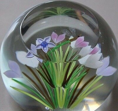 Caithness 1985 Whitefriars Summer Meadow Dragonfly Paperweight [420]