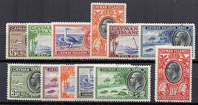Cayman Islands 1935 set to 10s MLH