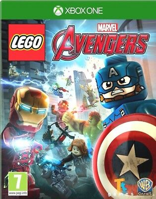 Lego Marvel Avengers Xbox One Games PAL Free Postage