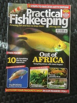 practical fishkeeping magazine - August 2015