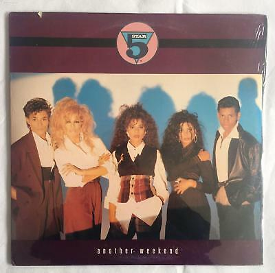 """5 Star Five Star - Another Weekend (US) US 12"""" Sealed  Deletion Cut/Hole"""
