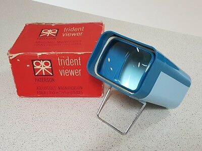 Vintage Paterson Trident Viewer for all 2 x 2 in (5 x 5cm) Slides
