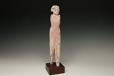 Egyptian Wooden Female Tomb Attendant