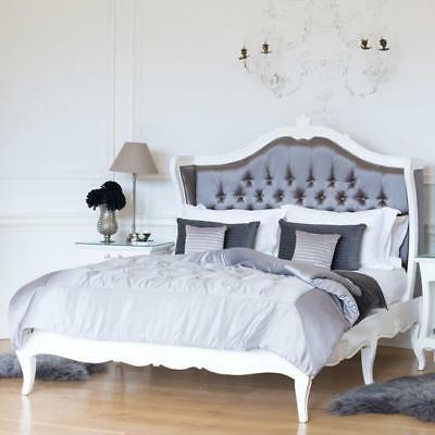 Angelique Antique White - Super King Size French Bed - In Stock - Free Delivery