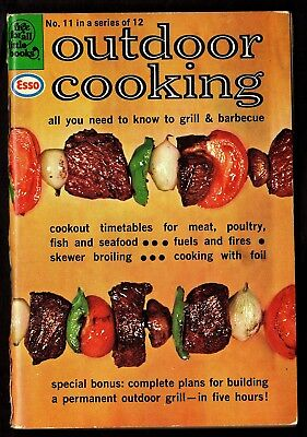 """Esso: """"OUTDOOR COOKING"""", """"Free For All Little Books""""#11"""