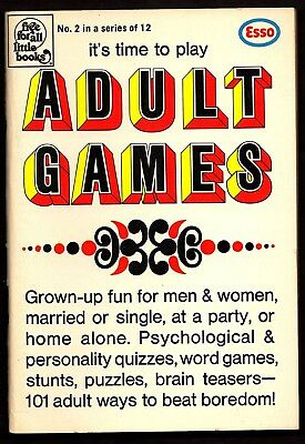 """Esso: It's Time To Play """"ADULT GAMES"""", """"Free For All Little Books""""#2"""