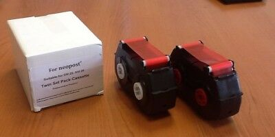 Neopost SM22/ SM26 Compatible Red Ribbon (twin pack)