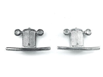 Dinky-Spares   Dinky 36d Rover   Grille   White Metal or Pewter