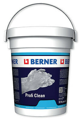 Berner Pro Clean Cleaning Cloths Without Water 72 Piece Silicone-free