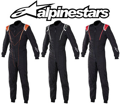 Alpinestars Super kmx-1 Kart Suit, Karting Racing, CIK FIA Level 2 - alle Größen