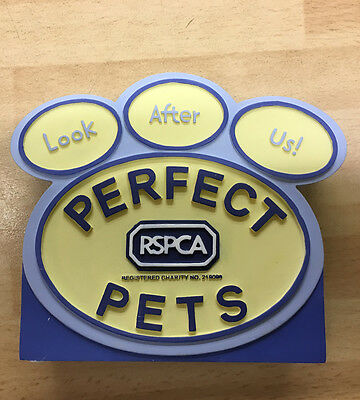 Perfect Pets Collection Plaque by Robert Harrop PTCP - NEW in Box