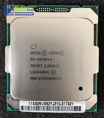 Intel Xeon E5 2630 v4 2.2GHz  25MB 10 Core Processor SR2R7 CM8066002032301