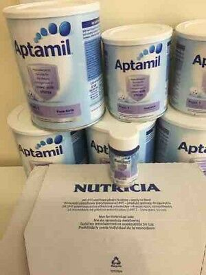Aptamil pepti 1 - 5x400g new and unopened - Hypoallergenic Formula From Birth