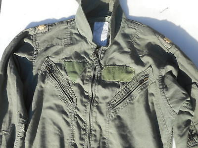 Military Surplus CWU-27 P Summer Flight Suit Nomex OD Green 38S