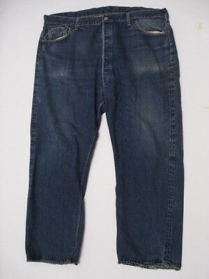 Vintage Levi's Big E 501 XX Hidden Rivet Paper Patch Jeans Size 46