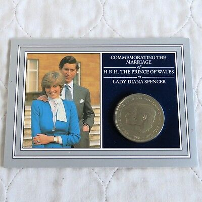 1981 Charles And Diana Royal Wedding Crown Presentation Pack