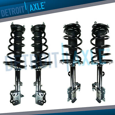 Front & Rear Quick Strut for 2008 2009 2010 2011 2012 2013 Toyota Highlander AWD