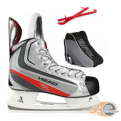 Head S4 Ice Hockey Skates Package with Bag & Guards **Great Value**