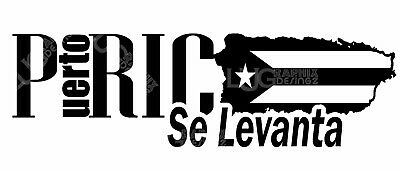 Puerto Rico ( SE LEVANTA ) Sticker