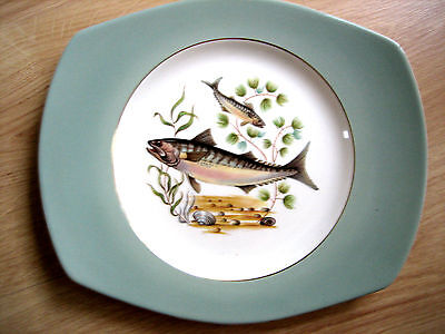 FIGGjO FLINT NORWAY FISH PLATE/PLATTER No 2, some damage ,MORE AVAILABLE