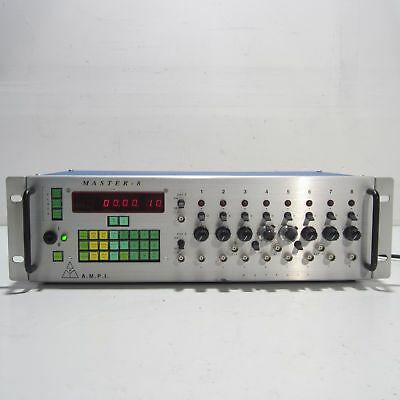 A.m.p.i Master-8 Eight Channel Programmable Pulse Generator Ampi