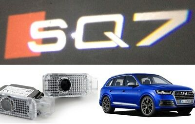 Audi Sq7 Logo Led Puddle Projector Ghost Door Lights For Sq7 Q7