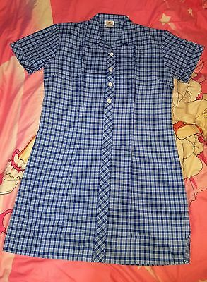 High School Girl Uniform Summer Dress, Size 24