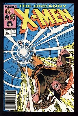 Uncanny X-Men (1963) #221 1st Print 1st App Mr Sinister Mark Jewelers Insert VF-