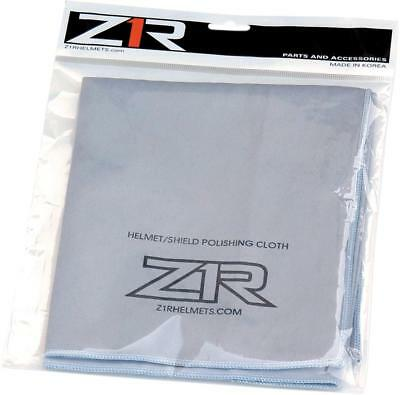 New Z1R Helmet Cleaning Adult Polishing Cloth, Gray, One Size