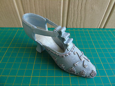 Regency Fine Arts Steps In Time Collection Miniature Shoe: Lilac / T-strap / VGC