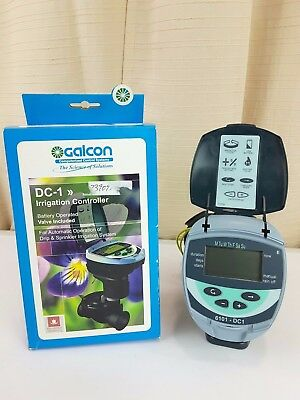 "Galcon 61012 1 DC-1 Station Battery Operated Irrigation Controller 3/4"" valve"