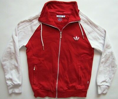 Adidas Originals 40 years Trefoil red tracksuit track top jacket vintage 42